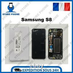 Ecran LCD + Tactile Samsung Galaxy S8 SM-G950 Noir Original (SERVICE PACK)