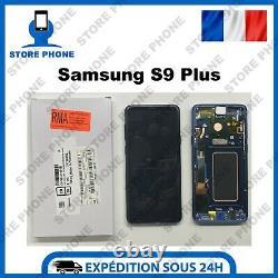 Ecran LCD +Tactile Samsung Galaxy S9 Plus SM-G965 Bleu Original (SERVICE PACK)
