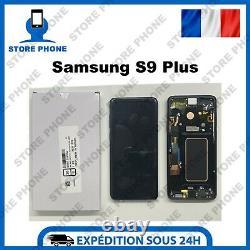 Ecran LCD +Tactile Samsung Galaxy S9 Plus SM-G965 Noir Original (SERVICE PACK)