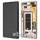 Écran LCD Tactile sur Châssis Original violet Samsung Galaxy Note 9 (N960F) ser