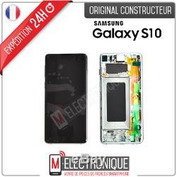 Ecran LCD Vert Original Samsung Galaxy S10 Sm-g973