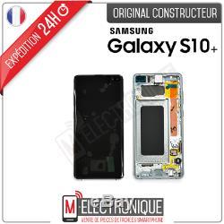 Ecran LCD Vert Original Samsung Galaxy S10+ Sm-g975f