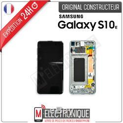 Ecran LCD Vert Original Samsung Galaxy S10e Sm-g970f