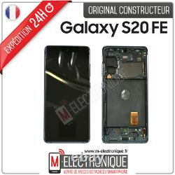 Ecran LCD Vert Original Samsung Galaxy S20 Fe 4g Sm-g780f