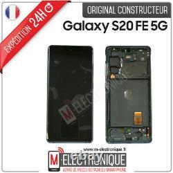 Ecran LCD Vert Original Samsung Galaxy S20 Fe 5g Sm-g781b
