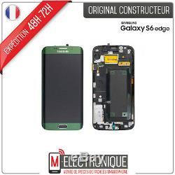 Ecran LCD Vert Original Samsung Galaxy S6 Edge G925