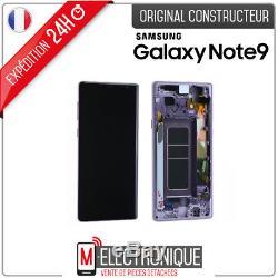 Ecran LCD Violet / Orchidée Original Samsung Galaxy Note 9 SM-N960F