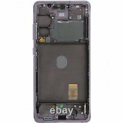Ecran LCD Violet Original Lavande Samsung Galaxy S20 Fe 4g / 5g Sm-g780f/sm-781b