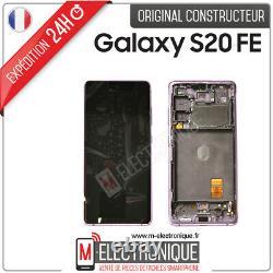 Ecran LCD Violet Original Samsung Galaxy S20 Fe 4g / 5g Sm-g780f/ Sm-781b