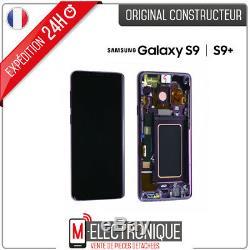 Ecran LCD Violet Original Samsung Galaxy S9+ G965F