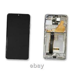 Ecran LCD Vitre Tactile Chassis Gris Original Samsung Galaxy S20 Ultra Sm-g988f