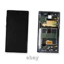 Ecran LCD Vitre Tactile Chassis Original Samsung Galaxy Note 10 Sm-n970f Noir