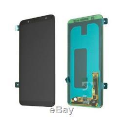 Ecran LCD Vitre Tactile Noir Original Samsung Galaxy A8 2018 SM-A530F