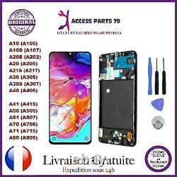 Ecran LCD+Vitre Tactile Original Samsung Galaxy A10 A20 A30 A40 A50 A70 A71 A80