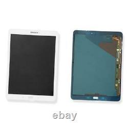 Ecran LCD Vitre Tactile Original Samsung Galaxy Tab S2 9.7 Sm-t810 Blanc