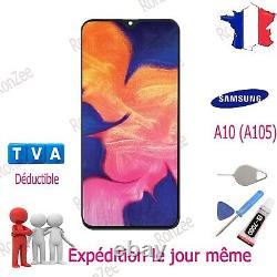 Ecran LCD + Vitre Tactile Pour Samsung Galaxy A10 Sm-a105f Oem Original