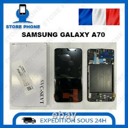 Ecran LCD +Vitre Tactile Samsung Galaxy A70 SM-A705 Noir Original (SERVICE PACK)