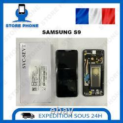 Ecran LCD + Vitre Tactile Samsung Galaxy S9 SM-G960 Noir Original (SERVICE PACK)