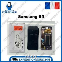 Ecran LCD+Vitre Tactile Samsung Galaxy S9 SM-G960 Violet Original (SERVICE PACK)
