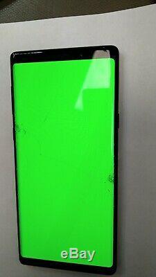Ecran LCD complet pour Samsung galaxy Note 9 SM-N960F Noir original