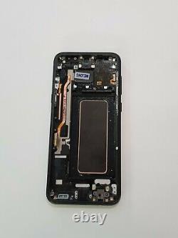 Ecran LCD sur Cadre Original d'occasion Samsung Galaxy S8+ SM-G955F Noir