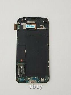 Ecran LCD sur Cadre Pour Samsung Galaxy S6 SM-G920F Doré Original