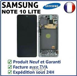 Ecran Lcd Noir Original Samsung Galaxy Note 10 Lite SM-N770F