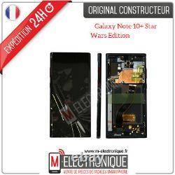 Ecran Noir Star Wars Edition Original Samsung Galaxy Note 10+ Sm-n975