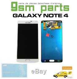 Ecran Original Blanc Samsung Galaxy Note 4 (N910F) SERVICE PACK