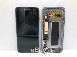 Ecran Original Complet Samsung Galaxy S7 Edge Noire Restaurée