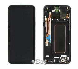 Écran Original LCD Samsung Galaxy S9 G960F Couleur de Châssis au Choix