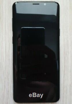 Écran Original LCD Samsung Galaxy S9+ PLUS G965F Avec Châssis Noir Cosmos