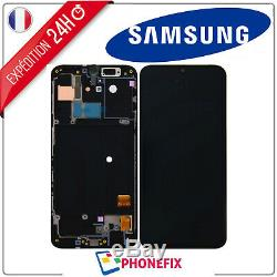 Ecran Original LCD Vitre Tactile Samsung Galaxy A40 chassis Noir A405F + Outils