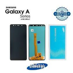 Ecran Original LCD + Vitre Tactile Samsung Galaxy A7 2018 Noir A750F
