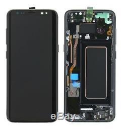 Ecran Original Samsung Galaxy s8 g950 Couleur Noir Envoi 24 Heures Espagne