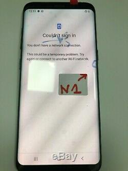 Ecran Original Samsung S8 SM-G950F Couleur Noire Galaxy avec Défaut N1