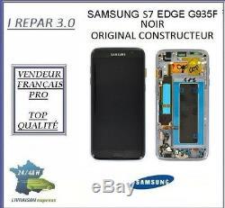 Ecran Original Samsung galaxy S7 EDGE G935F Noir
