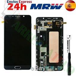 Ecran Original sur Chassis pour Samsung Galaxy Note 5 N920F Bleu