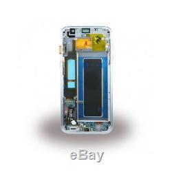 Ecran Original sur Chassis pour Samsung Galaxy S7 Edge G935F Blanc