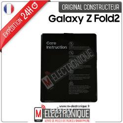 Ecran Pliable Noir Original Samsung Galaxy Z Fold 2 5g Sm-f916b