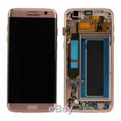 Ecran Samsung Galaxy S7 Edge (sm-g935f) ROSE original complet sur châssis