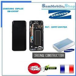 Ecran Samsung Galaxy S8 Plus SM-G955F ORIGINAL PACK SERVICE Noir + Film