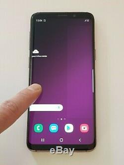 Écran Samsung Galaxy S9 SM-G960F/DS Original avec la vitre cassée. Fonctionnel