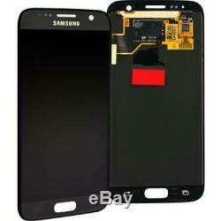 Écran à Cristaux Liquides Original Samsung G930f Galaxy S7 Noir Verres Touch