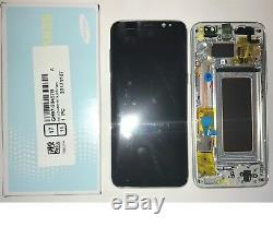Écran à Cristaux Liquides+Touch+Frame Original Samsung Galaxy S8 G950F Silver