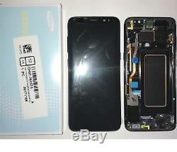 Écran à cristaux liquides+Touch + Frame ORIGINAL SAMSUNG Galaxy S8 G950F NOIR