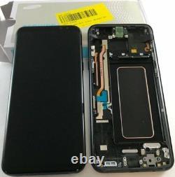 Écran à cristaux liquides Touch+Frame ORIGINAL SAMSUNG Galaxy S8+ plus g955f