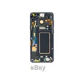 Écran complet Samsung Galaxy S9Plus (G965) original noir LCD+Tactile+Châssis