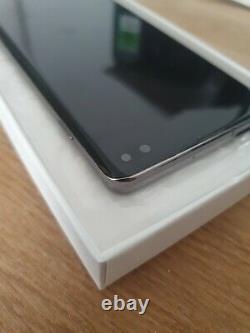 Ecran complet tactile + LCD sur châssis SAMSUNG Galaxy S10+ noir original