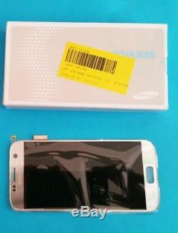 Écran d'affichage LCD Touch Samsung Galaxy S7 SM G930F silver gris Original